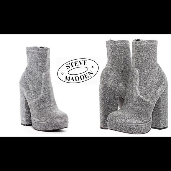 db91898c54c0 Steve Madden Stardust ⭐ Platform Fashion Boots